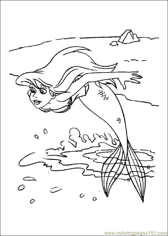 littlemermaid coloring page free the little mermaid