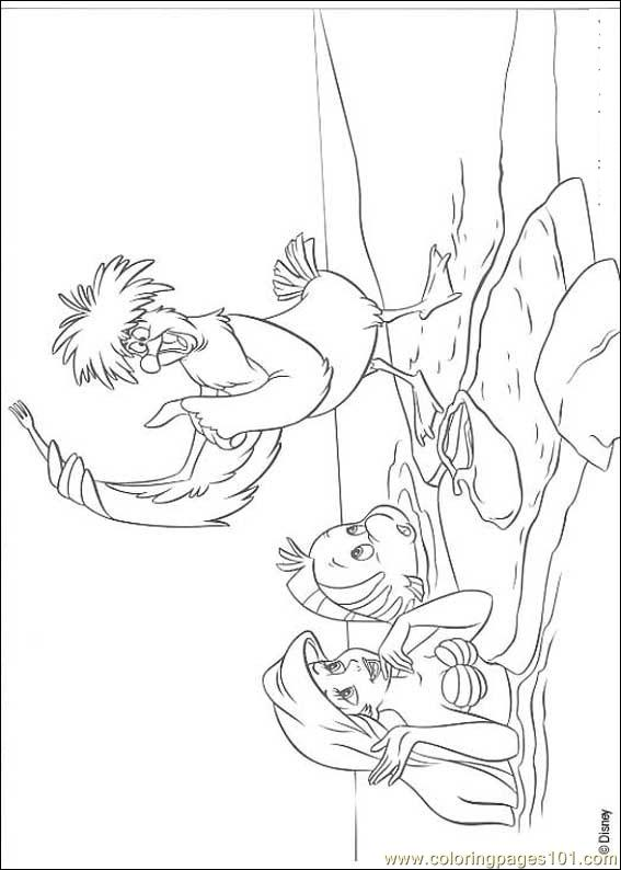 Thelittlemermaid 01 Coloring Page