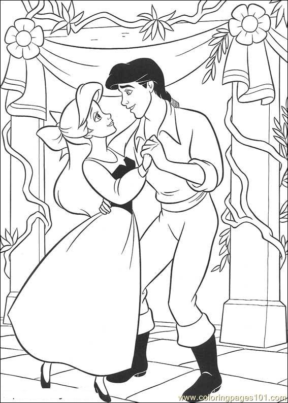 Thelittlemermaid 36 Coloring Page