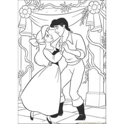 Ariel And Eric Are Dancing