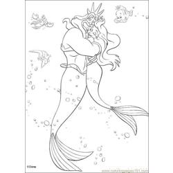 Thelittlemermaid 02 Free Coloring Page for Kids