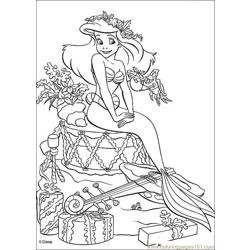 Thelittlemermaid 05 Free Coloring Page for Kids