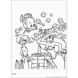 Thelittlemermaid 07 Free Coloring Page for Kids