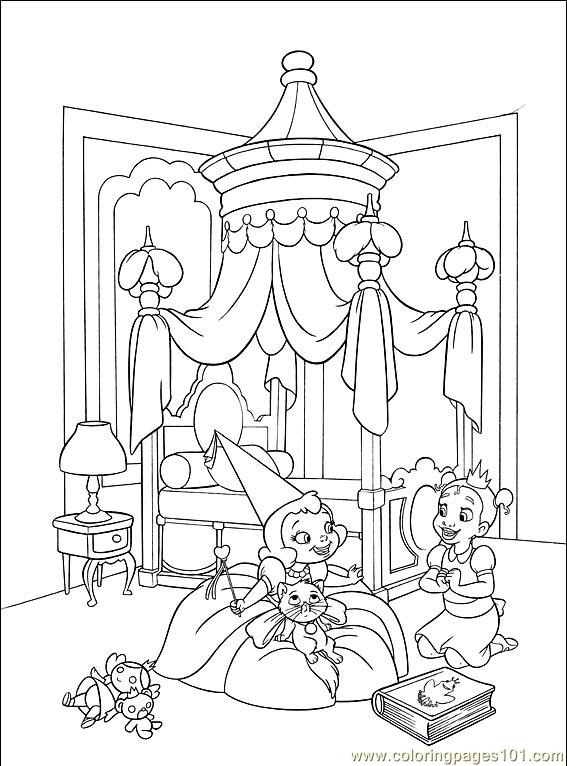 Princess Frog 007 (10) Coloring Page