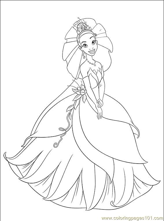 Princess Frog 007 (7) Coloring Page