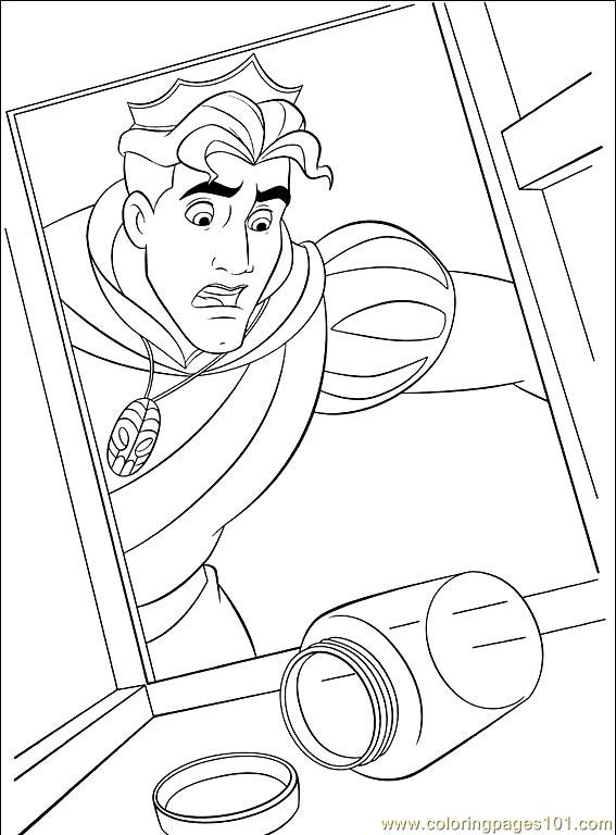 Princess Frog 033 (1) Coloring Page