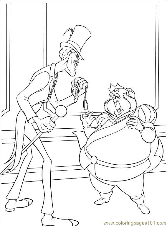 Princess Frog 033 (2) Coloring Page