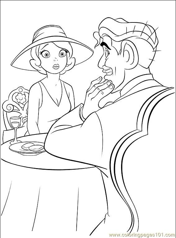 Princess Frog 033 (8) Coloring Page