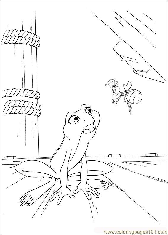 Princess Frog 51 Coloring Page