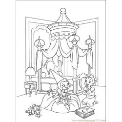 Princess Frog 007 (10) Free Coloring Page for Kids