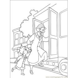 Princess Frog 007 (12) Free Coloring Page for Kids