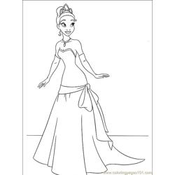 Princess Frog 020 (8) coloring page