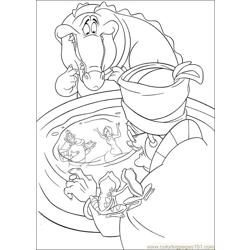 Princess Frog 50 Free Coloring Page for Kids