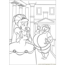 Princess Frog 55 Free Coloring Page for Kids