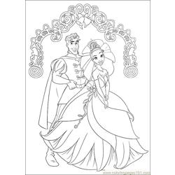 Princess Frog 60 Free Coloring Page for Kids