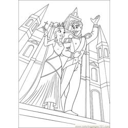 Princess Frog 61 Free Coloring Page for Kids