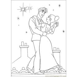 Princess Frog 63 Free Coloring Page for Kids