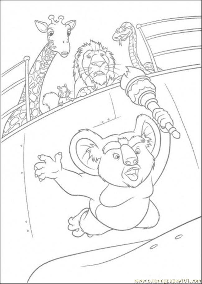 Nigel Is Falling Down Coloring Page