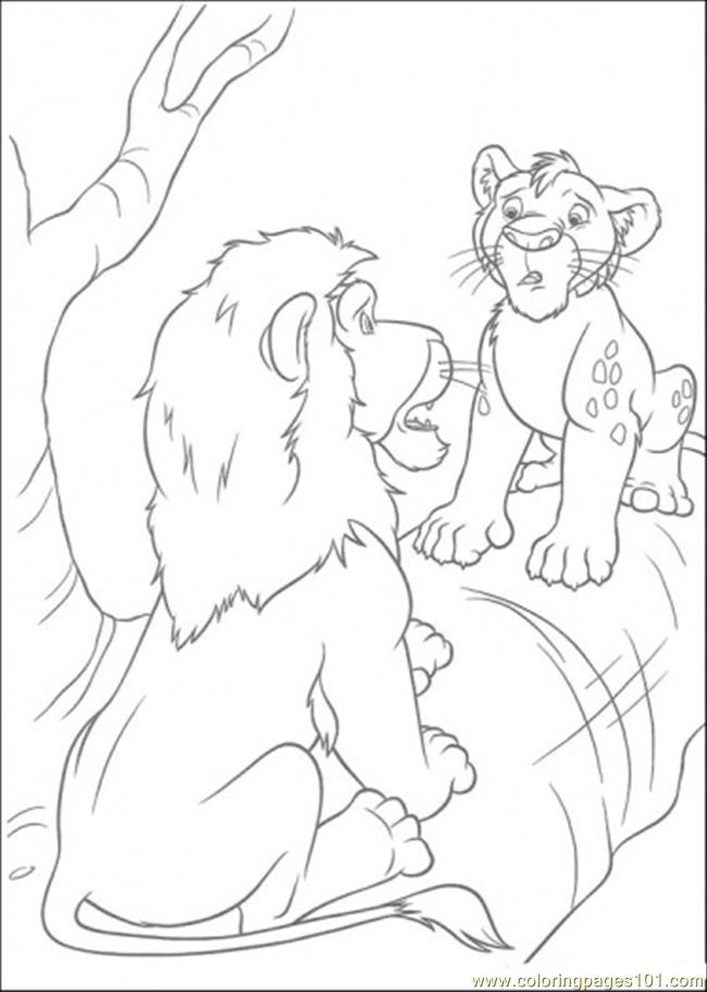 Samson And Ryan Is Talking Coloring Page