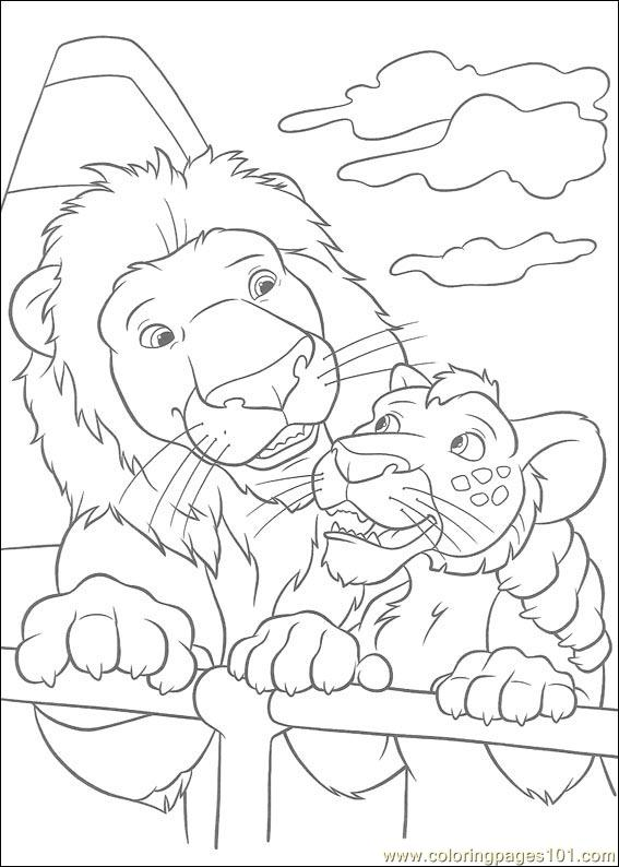 the wild coloring pages - photo#5