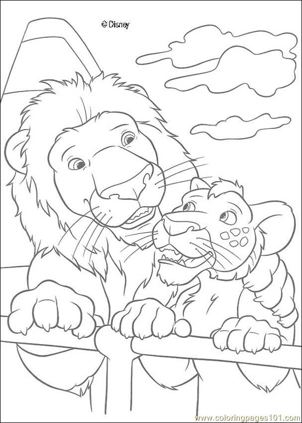 The Wild N 55 90309 Coloring Page