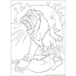 The Wild 52 Free Coloring Page for Kids