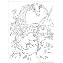 The Wild 54 Free Coloring Page for Kids