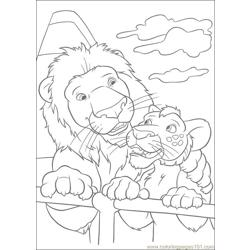 The Wild 56 Free Coloring Page for Kids