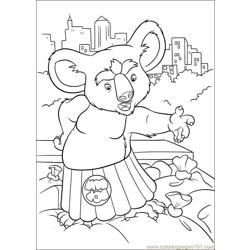 The Wild 57 Free Coloring Page for Kids