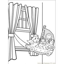 Wonder Pets 014 (14) Free Coloring Page for Kids