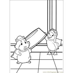 Wonder Pets 014 (2) Free Coloring Page for Kids