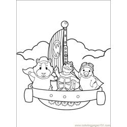 Wonder Pets 014 (5) Free Coloring Page for Kids