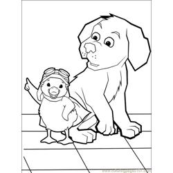 Wonder Pets 014 (7) Free Coloring Page for Kids