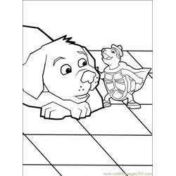 Wonder Pets 014 (8) Free Coloring Page for Kids