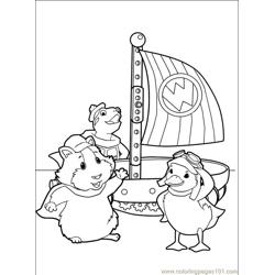 Wonder Pets 30 Free Coloring Page for Kids
