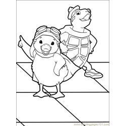 Wonder Pets 31 Free Coloring Page for Kids