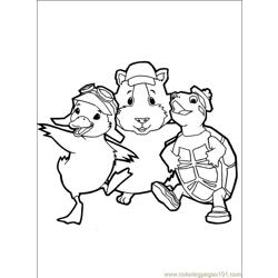 Wonder Pets 34 Free Coloring Page for Kids