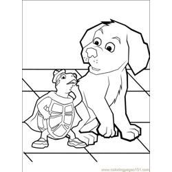 Wonder Pets 35 coloring page
