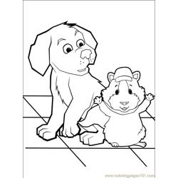 Wonder Pets 37 Free Coloring Page for Kids