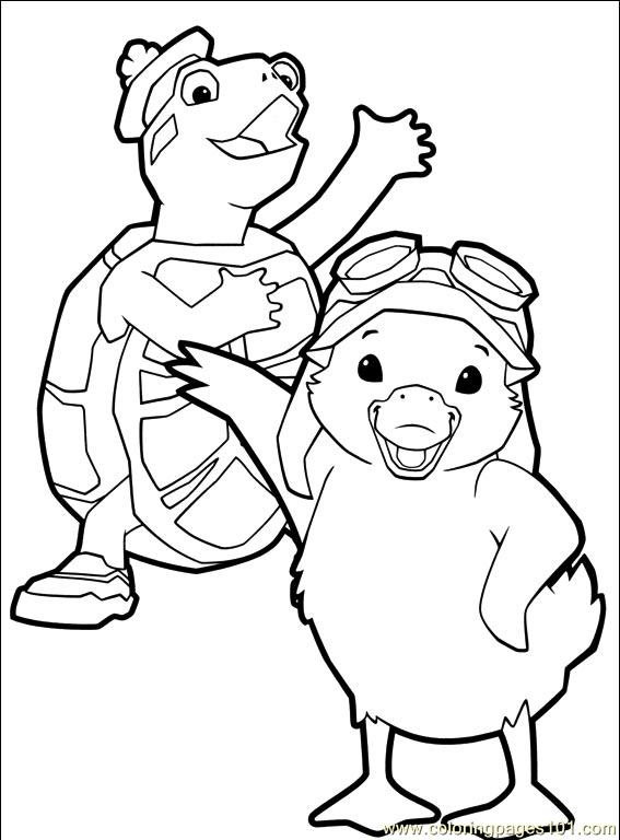 wonder pets christmas coloring pages - photo#23