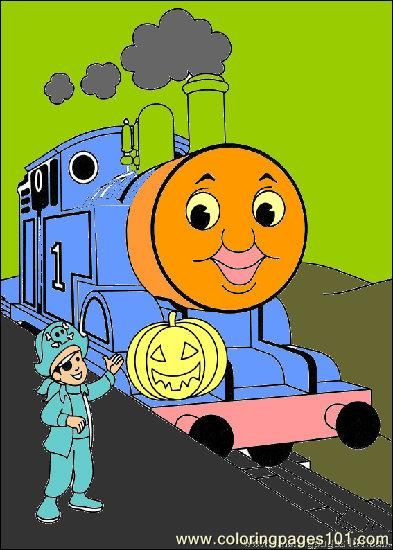 thomas and friends 33 coloring page