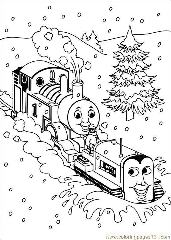 Thomas And Friends 06 Coloring Page