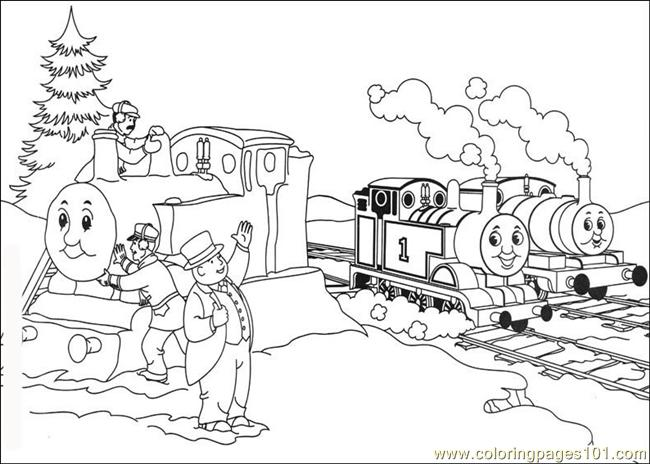 Thomas And Friends 07(1) Coloring Page