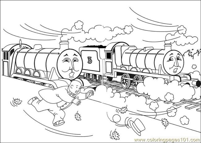 thomas and friends 08 coloring page