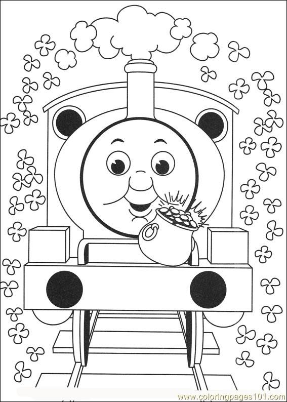 Thomas And Friends 09 Coloring Page Free Thomas Friends