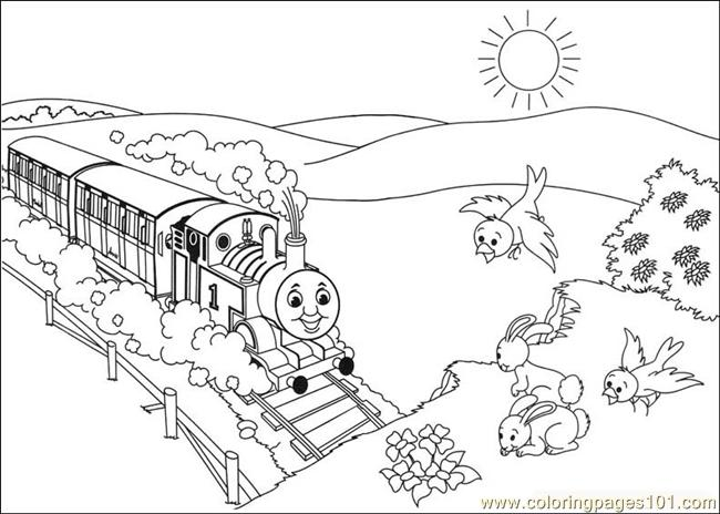 thomas and friends 11 coloring page