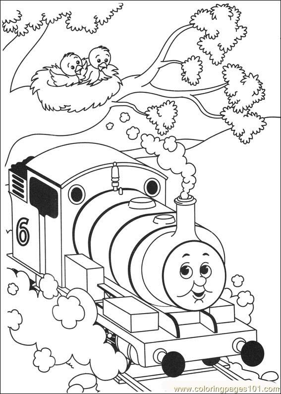 coloring book ~ Free Printable Thomas The Train Coloring Pages ... | 794x567