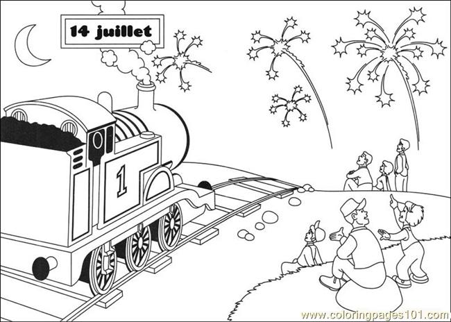 Thomas And Friends 22 Coloring Page