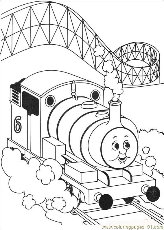 Thomas And Friends 23 Coloring Page