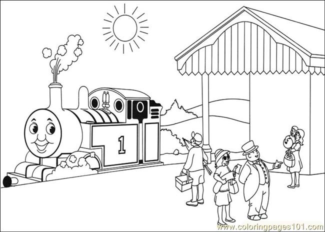 thomas and friends 24 coloring page